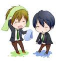 Haruka and Makoto