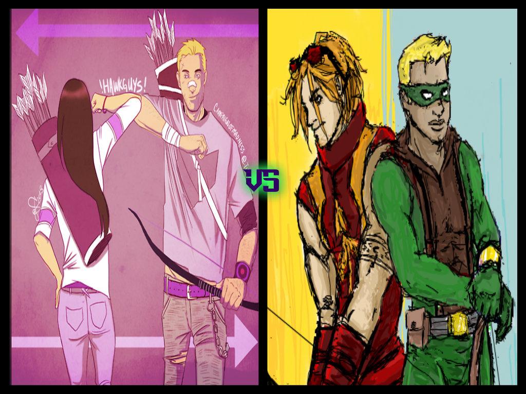 Hawk vs Arrow