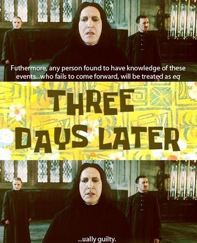 Headmaster Snape