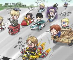 hetalia - axis powers race!^^