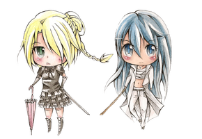 Hilda vs. Aoi