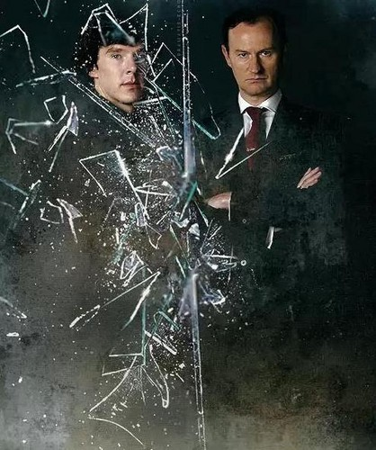 Sherlock in der BBC Hintergrund called Holmes brothers