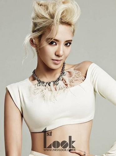 Hyoyeon for 1st Look