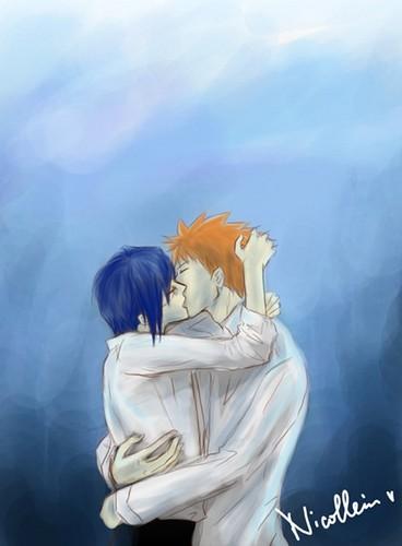 Ichigo and Uryu (Bleach)