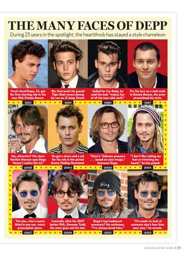 JDepp many faces! ♥