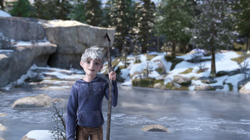 Rise of the Guardians wallpaper probably with an igloo and a snowbank called Jack Frost HQ