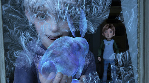Rise of the Guardians fondo de pantalla possibly containing a triceratops entitled Jack Frost HQ