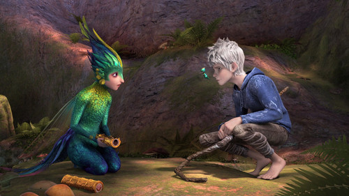 Rise of the Guardians wallpaper possibly containing a sign called Jack Frost and Toothiana HQ