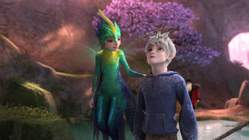 Jack Frost and Toothiana HQ