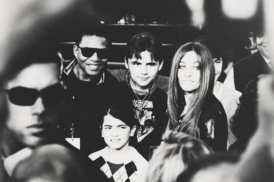 Jackie Jackson, Blanket Jackson, Prince Jackson and Paris Jackson ♥♥