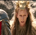 Jadis hears Aslans roar. - jadis-queen-of-narnia photo