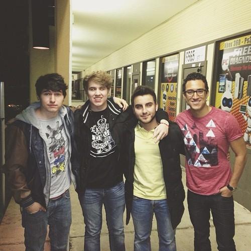 Jc, Ricardo, Ramon, & Chris