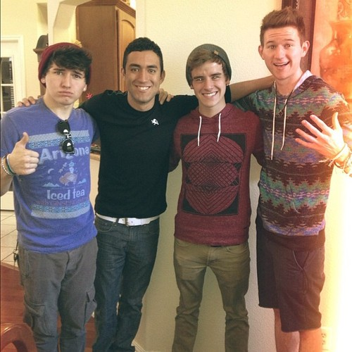 Jc, Ricky, Connor, & Ricardo