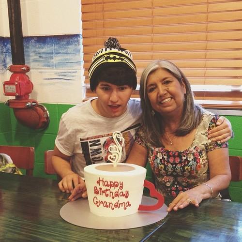 Jc & his grandma!
