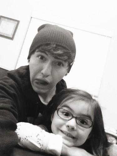 Jc & his sister! <3