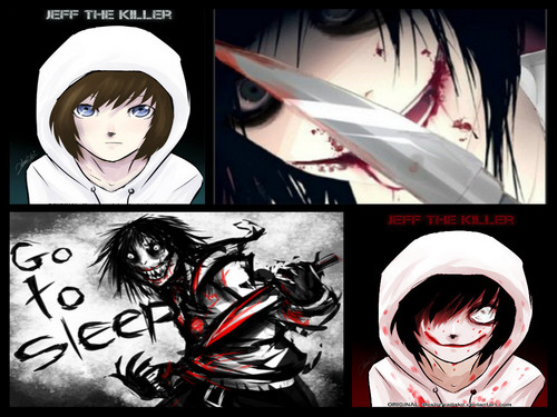 Jeff the killer wallpaper with anime entitled Jeff the killer <3