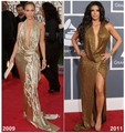 Jennifer Lopez 2009 vs Kim Kardashian 2011 [Kim Kardashian copies JLo] - jennifer-lopez fan art