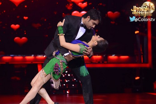 Jhalak Dikhhla Jaa dance floor!