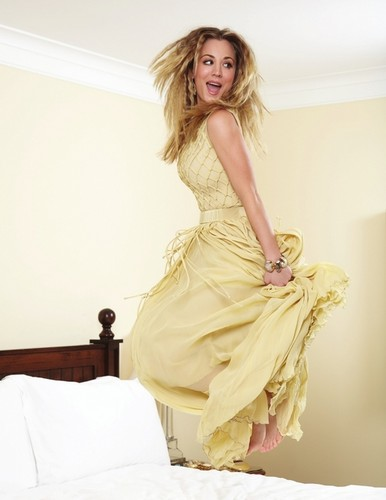 Kaley Cuoco wallpaper possibly containing a gown, a strapless, and a dinner dress called Kaley <3