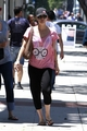 Kaley goes to lunch with a friend in LA - kaley-cuoco photo