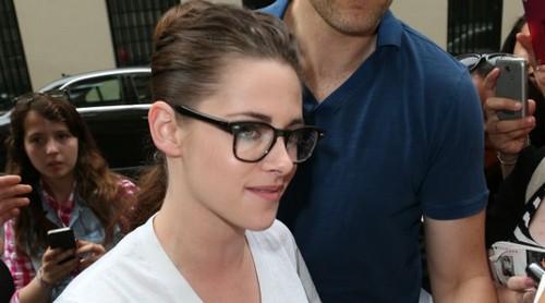 Kristen in Paris for Fashion Week