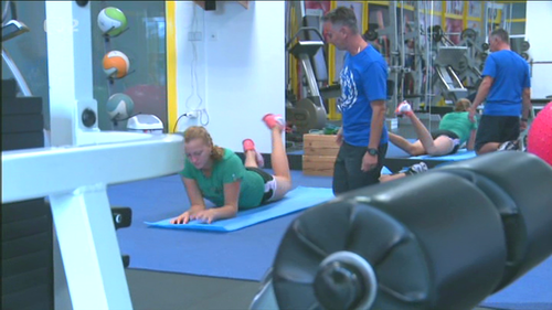Kvitova hot rehabilitation..2