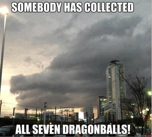 Le Dragon Balls!