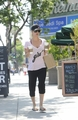 Leaving Starbucks in Sherman Oaks - kaley-cuoco photo
