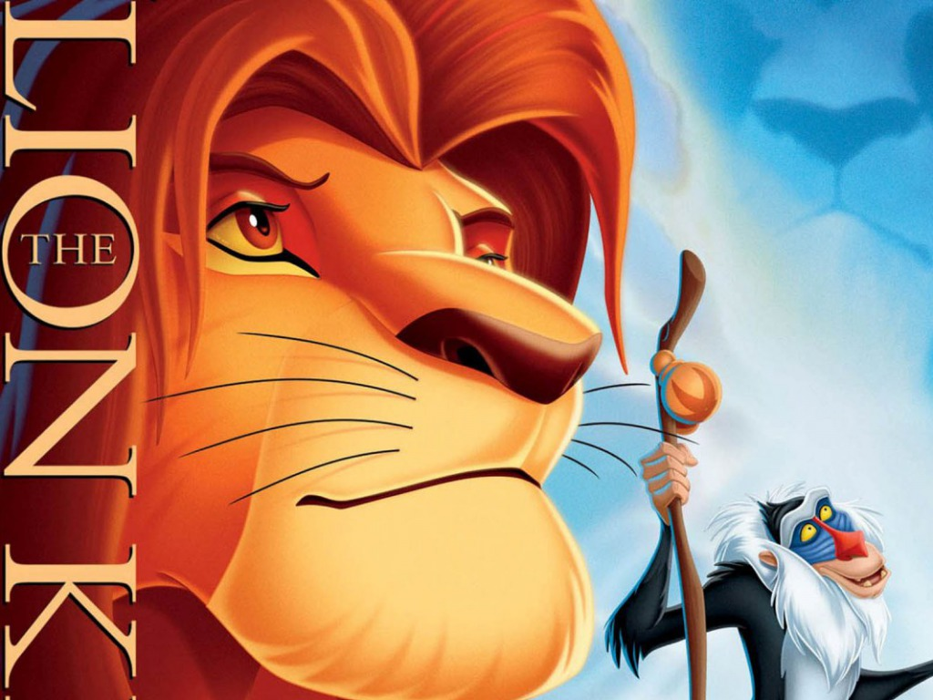 Lion King kertas dinding