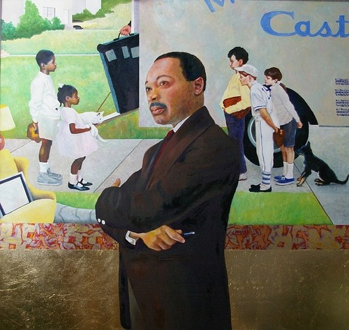 Martin Luther king by RC bailey