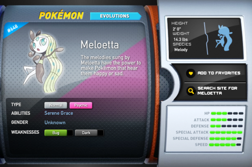 Legendary Pokemon پیپر وال entitled Meloetta