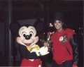 Michael And Mickey Mouse - michael-jackson photo