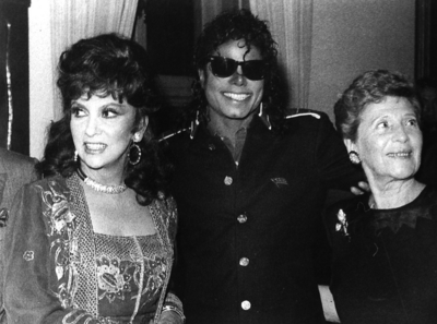 Michael At A Party At The American Embassy In Italy Back in 1988