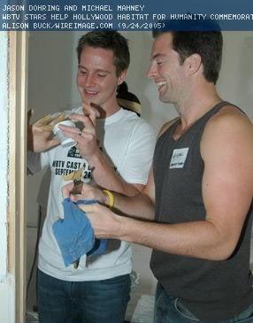 Michael & Jason at Hollywood Habitat for Humanity