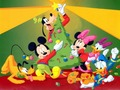 Mickey Mouse and Friends Wallpaper - disney wallpaper