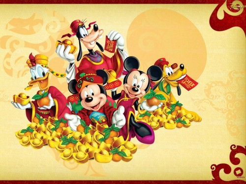 Disney wallpaper called Mickey topo, mouse and Friends wallpaper