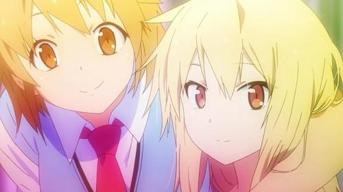 Misaki and Shiina