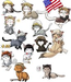 More of nekoitalia!:D - hetalia icon
