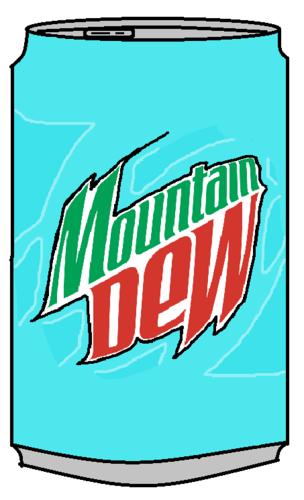 Mountain Dew Baja Blast Can