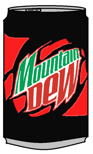 Mountain Dew Code Red Can