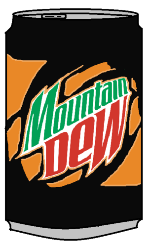 Mountain Dew Livewire Can