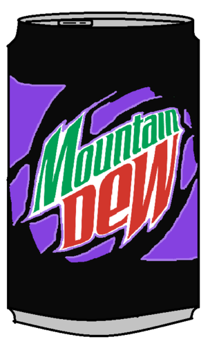 Mountain Dew Pitch Black Can