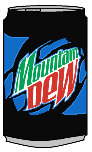 Mountain Dew Voltage Can