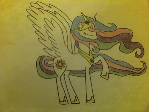 My Drawing Of Celestia