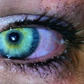 My green eyes  - people-with-green-eyes photo