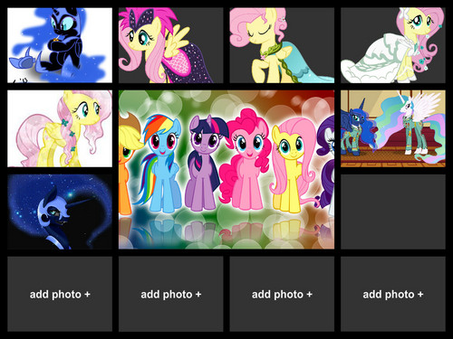 My little pony collage