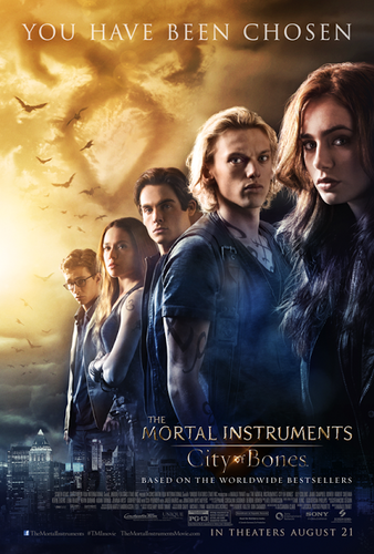 NEW City of Bones movie Poster!