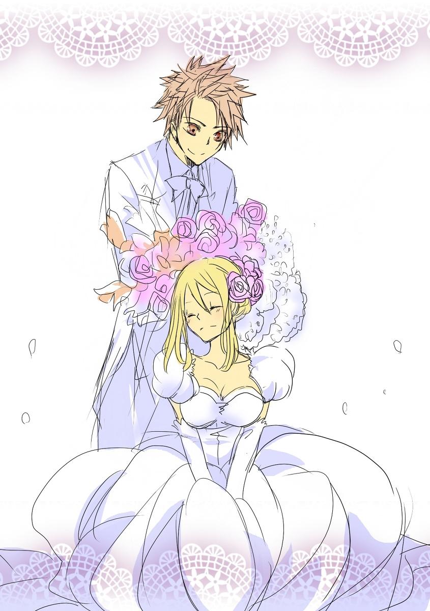 fairy wedding: NEW 916 FAIRY TAIL NALU WEDDING FANFICTION