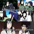 Neji and Hinata / Neji and Tenten