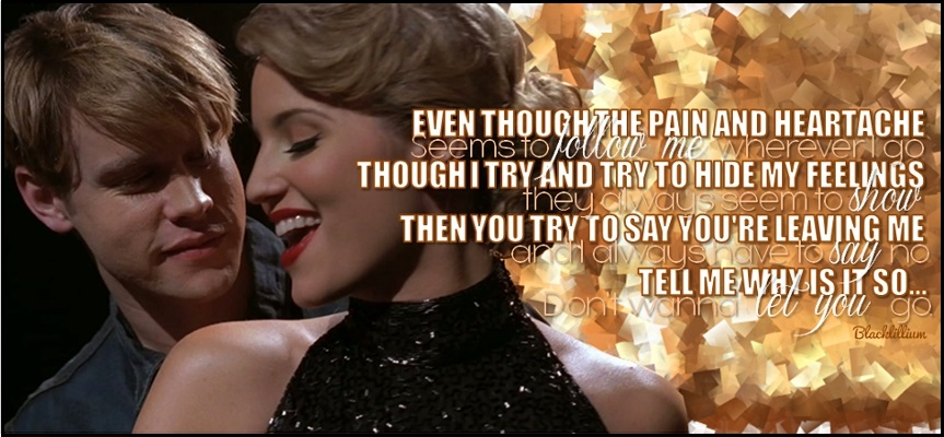 lyrics of never say never glee